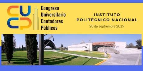4°Congreso Universitario De Contadores Públicos entradas
