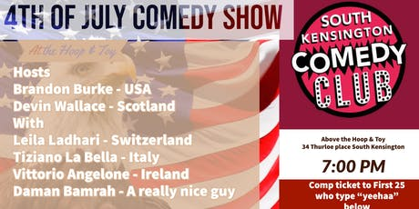 4th of July Comedy Show tickets