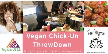 The Vegan Chick-Un ThrowDown  tickets