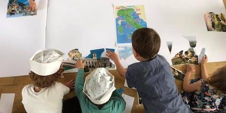 "Kinderworkshop ""Scopri i borghi italiani"" 03.08.2019 Tickets"