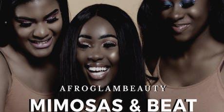 AfroGlamBeauty Mimosas & Beat Class tickets