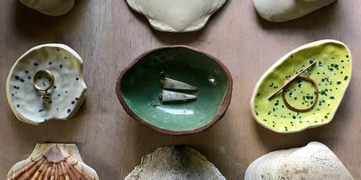 Nature Forms in Porcelain: Treasure Bowls