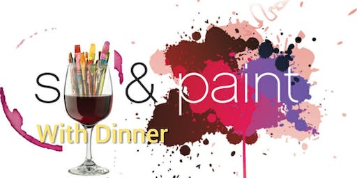 Sip & Paint With Dinner