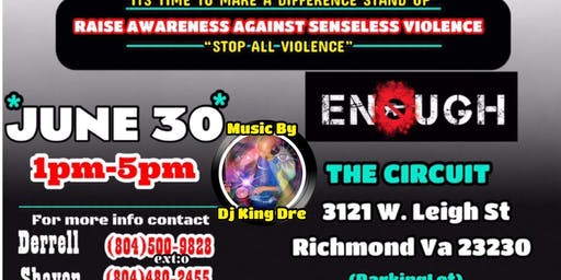 The Village Against Violence Summer Rally!