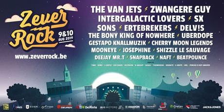 Zeverrock 2019 tickets