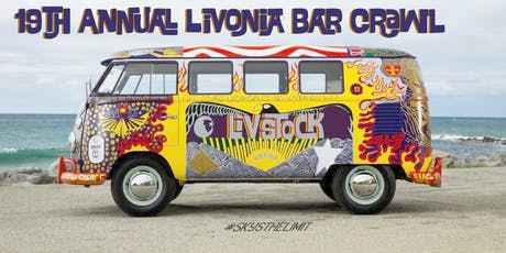 19th Annual Livonia Bar Crawl - LIVSTOCK! tickets