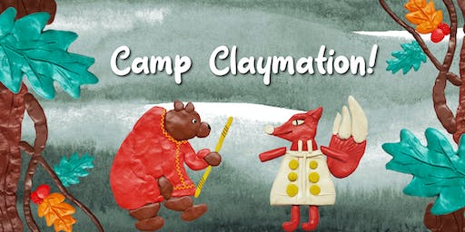 Camp Claymation! (Ages 8-12)
