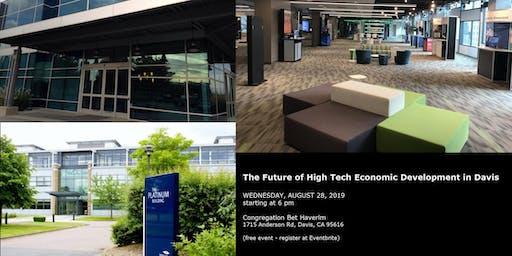 The Future of High Tech Economic Development in Davis