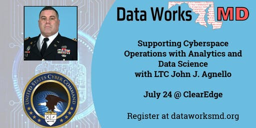 Supporting Cyberspace Operations with Analytics and Data Science