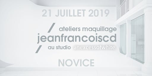 ATELIER MAQUILLAGE NOVICE - 21 JUILLET 2019