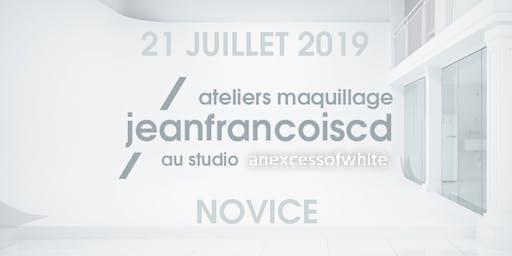ATELIER MAQUILLAGE NOVICE - 21 JUILLET 2019