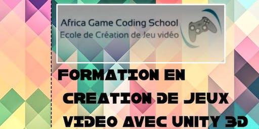 Formation en création de Jeux Vidéo