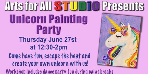 Unicorn Painting Party