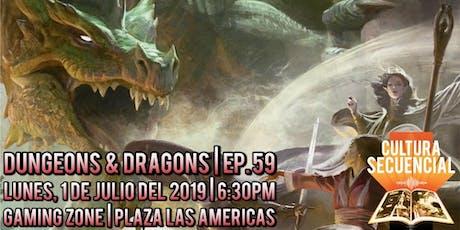 Dungeons & Dragons | Ep. 59 ¡EN VIVO! tickets