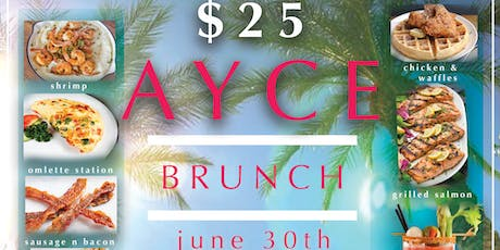 AYCE (all you can eat) Brunch at Touch Martini Bar tickets