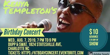 Kenya Templeton's Birthday Concert tickets