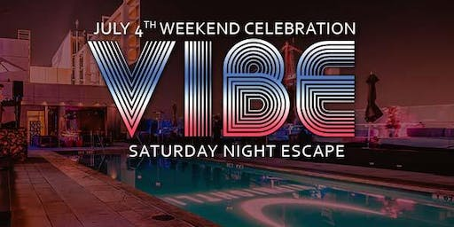 Vibe W Rooftop - First Night Swim & Club Life of Summer