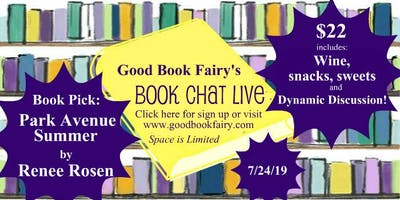 BOOK CHAT LIVE - July 24, 2019