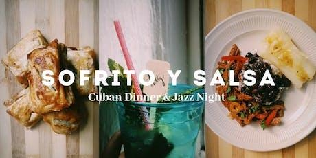 Sofrito y Salsa- Cuban Dinner & Jazz Night tickets