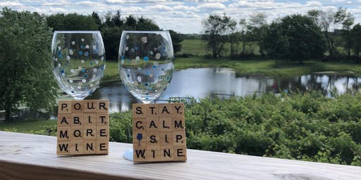 Wine Glass and Coaster Craft with Rachel