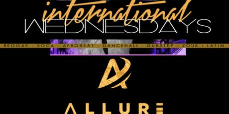 ALL AH WE INTERNATIONAL WEDNESDAYS  tickets