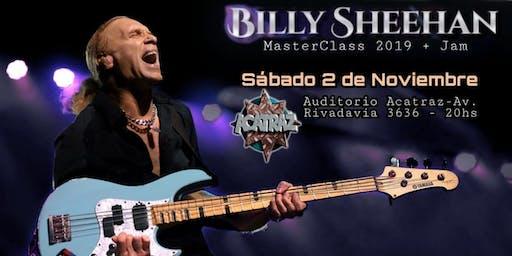 Billy Sheehan Masterclass en Argentina Sábado 2 de noviembre 2019