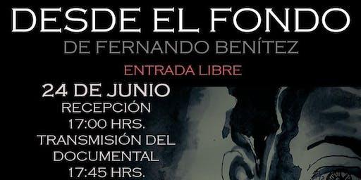 """PREMIER DEL DOCUMENTAL """"DESDE EL FONDO"""""""