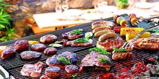 Le barbecue de l'amicale