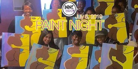 iNINE Bistro Paint Night  tickets