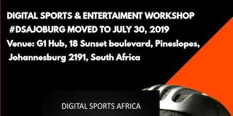 Digital Sports & Entertainment Workshop tickets