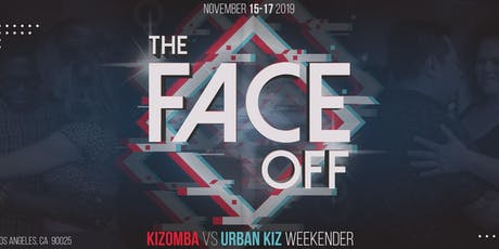 The Face Off: Kizomba vs Urban Kiz Weekender tickets