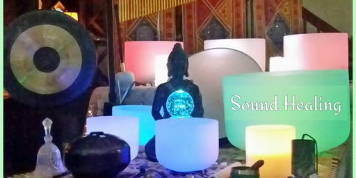 Sound Bath with Crystal Singing Bowls & More