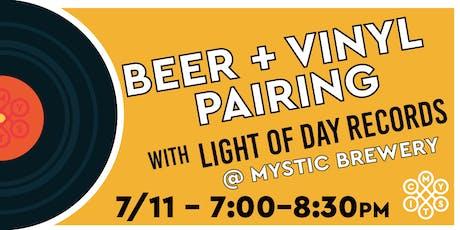 Beer + Vinyl Pairing at Mystic Brewery tickets