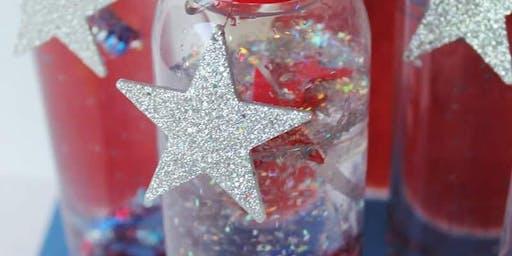 Make Patriotic Sparkler Bottles