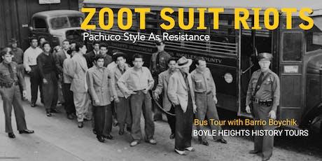 """""""Zoot Suit Riots"""" Bus Tour (August) tickets"""