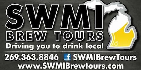 July 20th 6hr Brewery/Winery Tour tickets