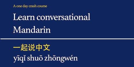 Learn Conversational Mandarin tickets