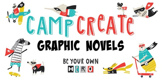 Camp Create! Graphic Novels (Ages 8-12)