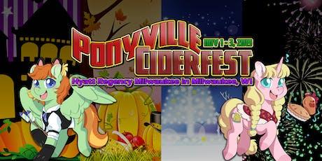 Ponyville Ciderfest 2019 tickets