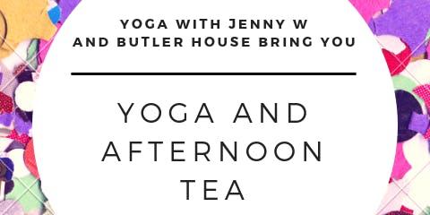Yoga and Light Afternoon Tea