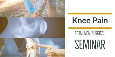 FREE Non-Surgical Knee Pain Elimination Dinner Seminar - NW Suburbs / Huntley