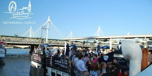 I LOVE THE 80's POPWORLD Summer Boat Party at Tattershall Castle on The Thames
