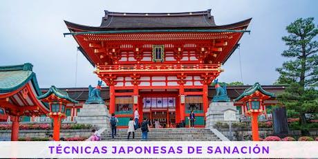 Seminario - Técnicas Japonesas de Sanación entradas
