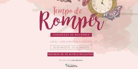 Congresso de Mulheres IBF ingressos