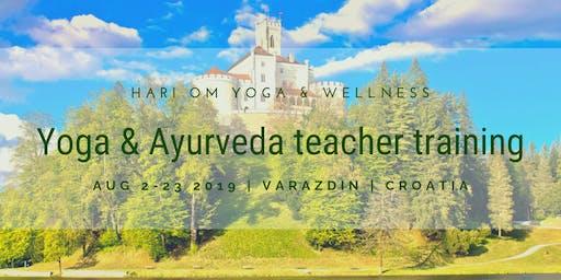 Hari OM 200hr Yoga and Ayurveda teacher training