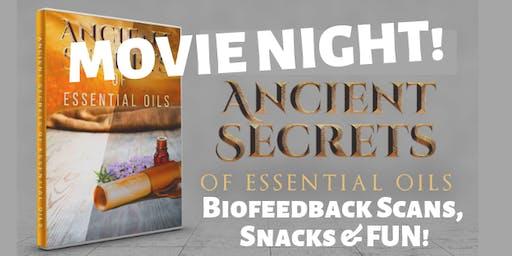 Essential Oils Movie Night
