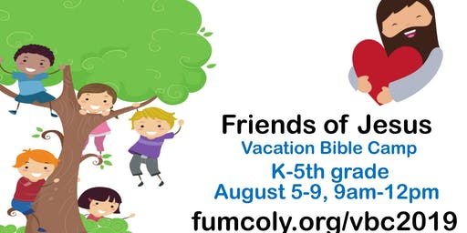 Vacation Bible Camp: Friends of Jesus