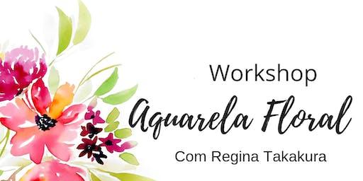Workshop de Aquarela Floral - Recife