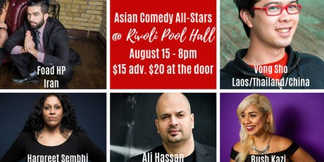 Asian Comedy All Stars tickets