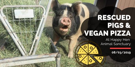 Rescued Pigs & Vegan Pizza tickets